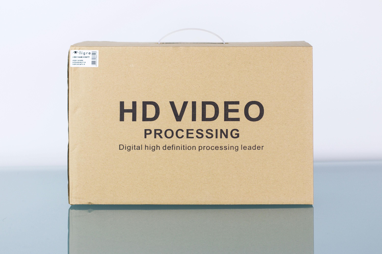4KX2K 1X4 HDMI Extender Splitter Over Cat6 with IR - Helgi